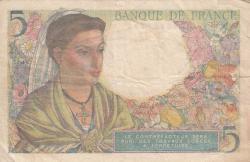 Image #2 of 5 Francs 1943 (22. VII.)