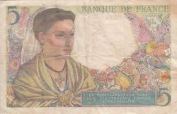 Image #2 of 5 Francs 1943 (5. VIII.)