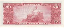 20 Cruzeiros ND (1963)