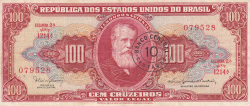 Image #1 of 10 Centavos on 100 Cruzeiros ND (1966-1967)