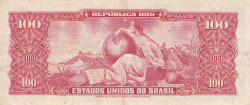 Image #2 of 10 Centavos on 100 Cruzeiros ND (1966-1967)