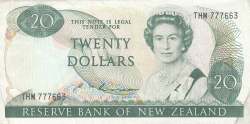 Image #1 of 20 Dollars ND (1985-1989)