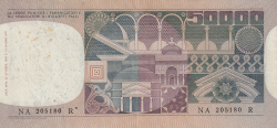 Image #2 of 50 000 Lire 1978 (23. X.)