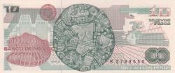 Image #2 of 10 Nuevos Pesos 1992 (31. VII.) - signatures Miguel Mancera Aquayo / Guillermo Priato Fortun