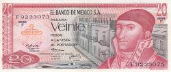 Image #1 of 20 Pesos 1972 (29. XII.)