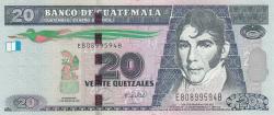 Image #1 of 20 Quetzales 2008 (12. III.)