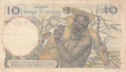 Image #2 of 10 Francs 1954 (28. X.)