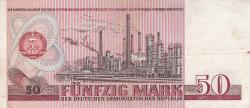 Imaginea #2 a 50 Mark 1971 - bancnotă de înlocuire