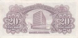 Imaginea #2 a 20 Pesos Oro 1953 (1. I.)