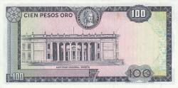 Imaginea #2 a 100 Pesos Oro 1973 (20. VII.)