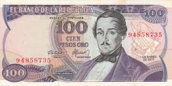 Image #1 of 100 Pesos 1977 (1. I.)