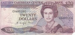 Image #1 of 20 Dollars ND (1988-1993)
