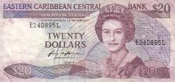 20 Dollars ND (1988-1993)