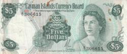 Image #1 of 5 Dollars L.1971 (1972)