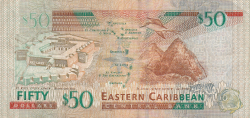 Image #2 of 50 Dollars ND (2003) - (K - St. Kitts)