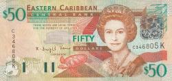 50 Dolari ND (2003) - (K - St. Kitts)