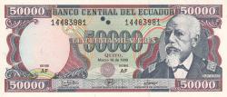 Imaginea #1 a 50,000 Sucres 1999 (10. III.)