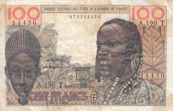 Image #1 of 100 Francs 1961 (20. III.)