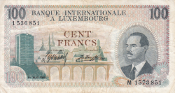 Image #1 of 100 Francs 1968 (1. V.)