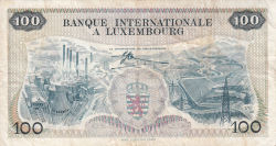 Image #2 of 100 Francs 1968 (1. V.)