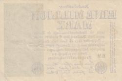 Image #2 of 1 Million (1 000 000) Mark 1923 (9. VIII.)