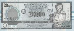 Image #1 of 20,000 Guaraníes 2005