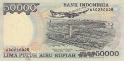 Image #2 of 50,000 Rupiah 1995/1998