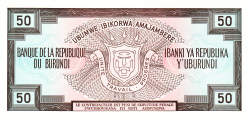 Imaginea #2 a 50 Franci 1991 (1. X.)