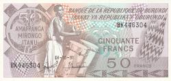 Imaginea #1 a 50 Franci 1991 (1. X.)