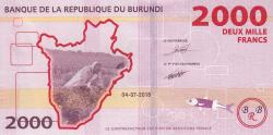 Image #2 of 2000 Francs 2018 (4. VII.)