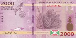 Image #1 of 2000 Francs 2018 (4. VII.)