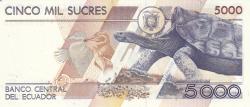 Imaginea #2 a 5000 Sucres 1999 (12. VII.)