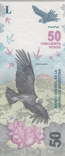 Image #1 of 50 Pesos ND (2018)