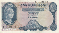 Image #1 of 5 Pounds ND (1957-1967)
