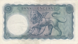 Image #2 of 5 Pounds ND (1957-1967)
