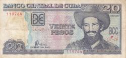 Image #1 of 20 Pesos 2001
