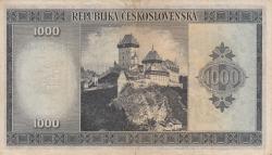 Image #2 of 1000 Korun ND (1945) - SPECIMEN