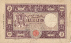 Image #1 of 1000 Lire 1943 (11. VIII.)