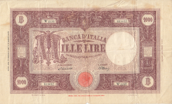 Image #1 of 1000 Lire 1947 (18. I.)