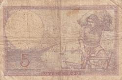 5 Franci 1940 (26. XII.)