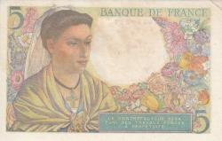 Image #2 of 5 Francs 1947 (30. X.)