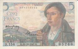 Image #1 of 5 Francs 1947 (30. X.)