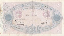 Image #1 of 500 Francs 1938 (14. IV.)