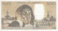 Image #2 of 500 Francs 1981 (2. VII.)