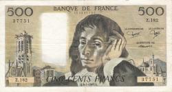 Image #1 of 500 Francs 1983 (6. I.)
