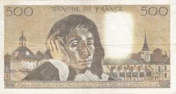 Image #2 of 500 Francs 1983 (6. I.)