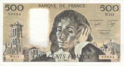 Image #1 of 500 Francs 1984 (5. VII.)
