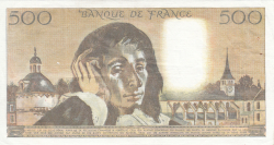 Image #2 of 500 Francs 1984 (5. VII.)