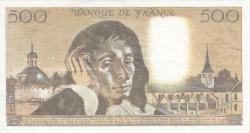 Imaginea #2 a 500 Franci 1984 (5. VII.)
