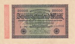 Image #1 of 20 000 Mark 1923 (20. II.) - 2